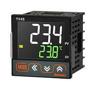 Вимірювач-регулятор температури з ЖК-дисплеєм та ПІД-регулюванням, 48х48 мм