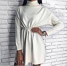 Платье-туника с люрексом под горло, фото 2