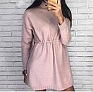 Платье-туника с люрексом под горло, фото 3