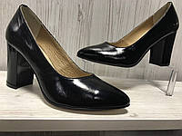 Туфли черные классические туфли