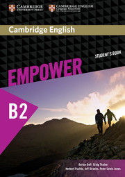 Учебник Cambridge English Empower B2 Upper-Intermediate Student's Book