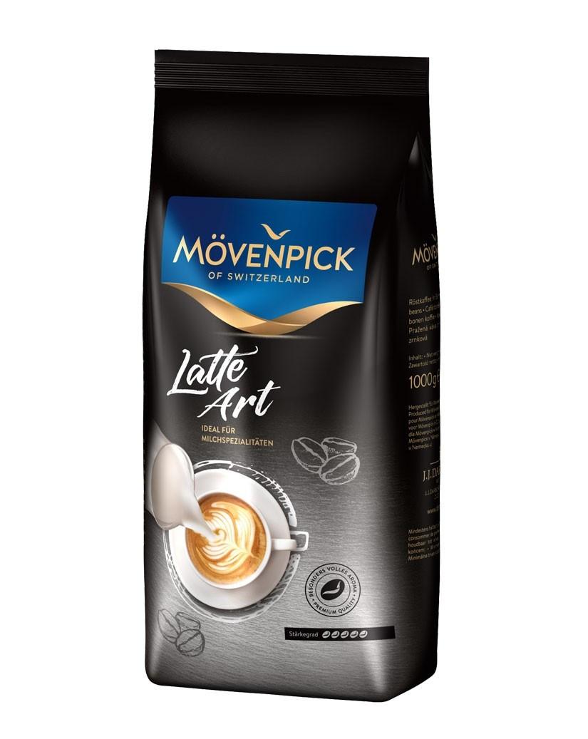 Кава в зернах Mövenpick Latte Art 1 кг