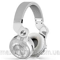 Наушники (гарнитура) Bluedio T2+ Plus. FM, MicroSD. White