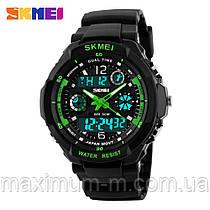 Спортивные часы Skmei 0931 S-SHOCK Зеленые