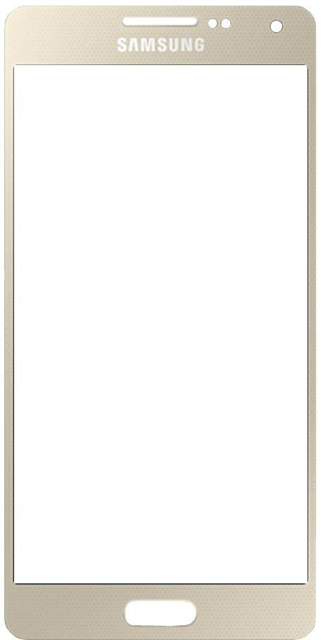 Корпусное стекло дисплея Samsung Galaxy A7 A700 Gold