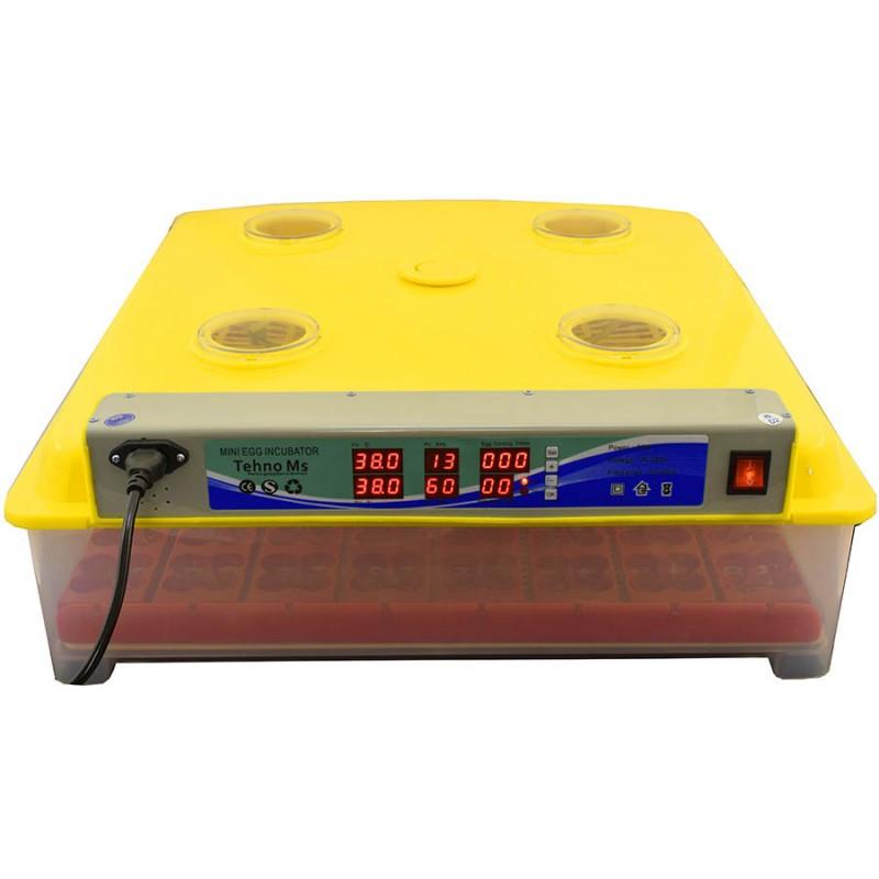 Инкубатор для 63 яиц автоматический пластиковый