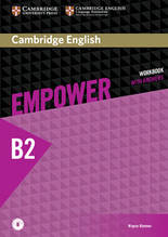 Рабочая тетрадь Cambridge English Empower B2 Upper-Intermediate WorkBook + key + Downloadable Audio