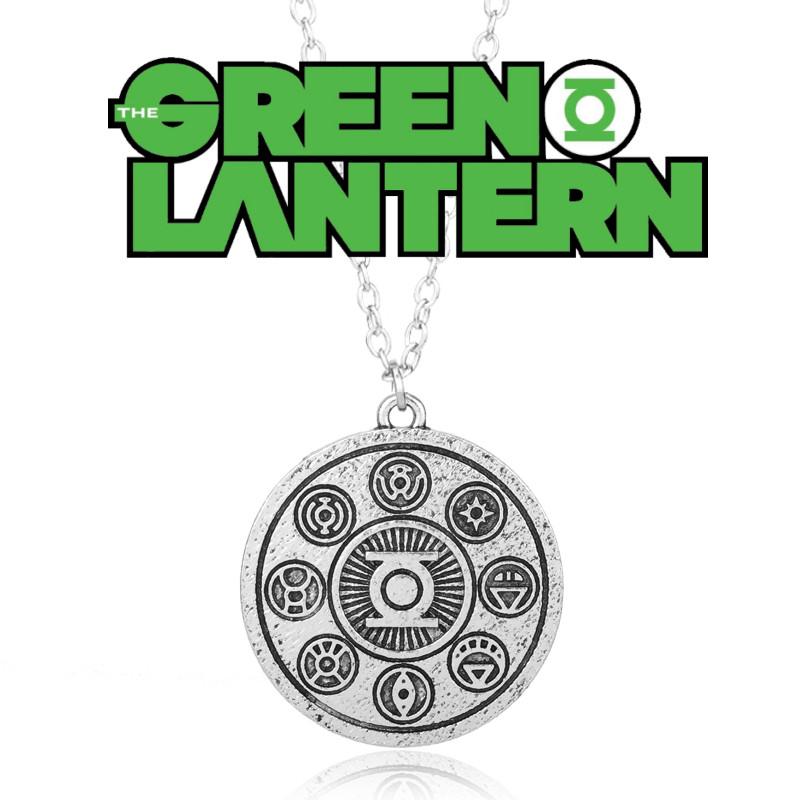 Кулон Зеленый Фонарь / The Green Lantern / DC