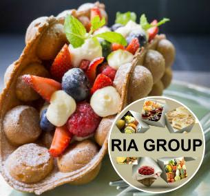 Смеси для производства Гонконгских вафель со вкусом ягод