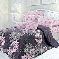 Комплект постельного белья фиолет Бязь полуторный комплект