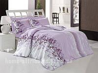 Комплект постельного белья фиолетовый бамбук Бязь