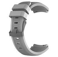 Силиконовый ремешок для часов  Huawei Watch GT / GT Active 46mm - Grey, фото 1