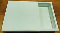Коробка для подарков белая 160х160х35 мм