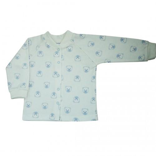 Кофточка Верес Baby Bear blue футер з начесом бежевый