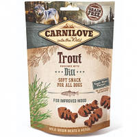 Carnilove Dog Semi-Moist Trout with Dill Лакомство для собак форель, укроп, 200г