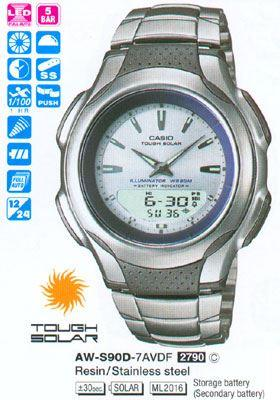Часы CASIO AW-S90D-7AVEF