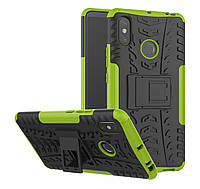 Броня чехол Ёлка для Xiaomi Mi MAX 3 Зеленый