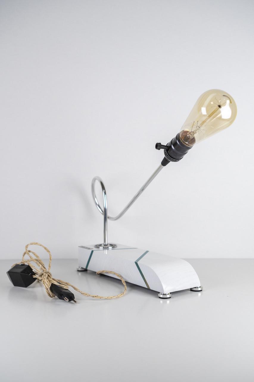 Настільна лампа Pride&Joy біла