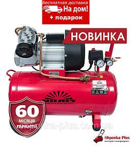 Компрессор 2 цилиндра, 55 л, 2,2 кВт, 375 л/мин, Латвия Vitals Professional GK 55t 472-8a