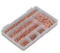 Набір витратних матеріалів для споттера, використовується для кузовного ремонту, в кейсі