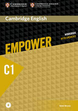 Рабочая тетрадь Cambridge English Empower С1 Advanced WorkBook + key + Downloadable Audio