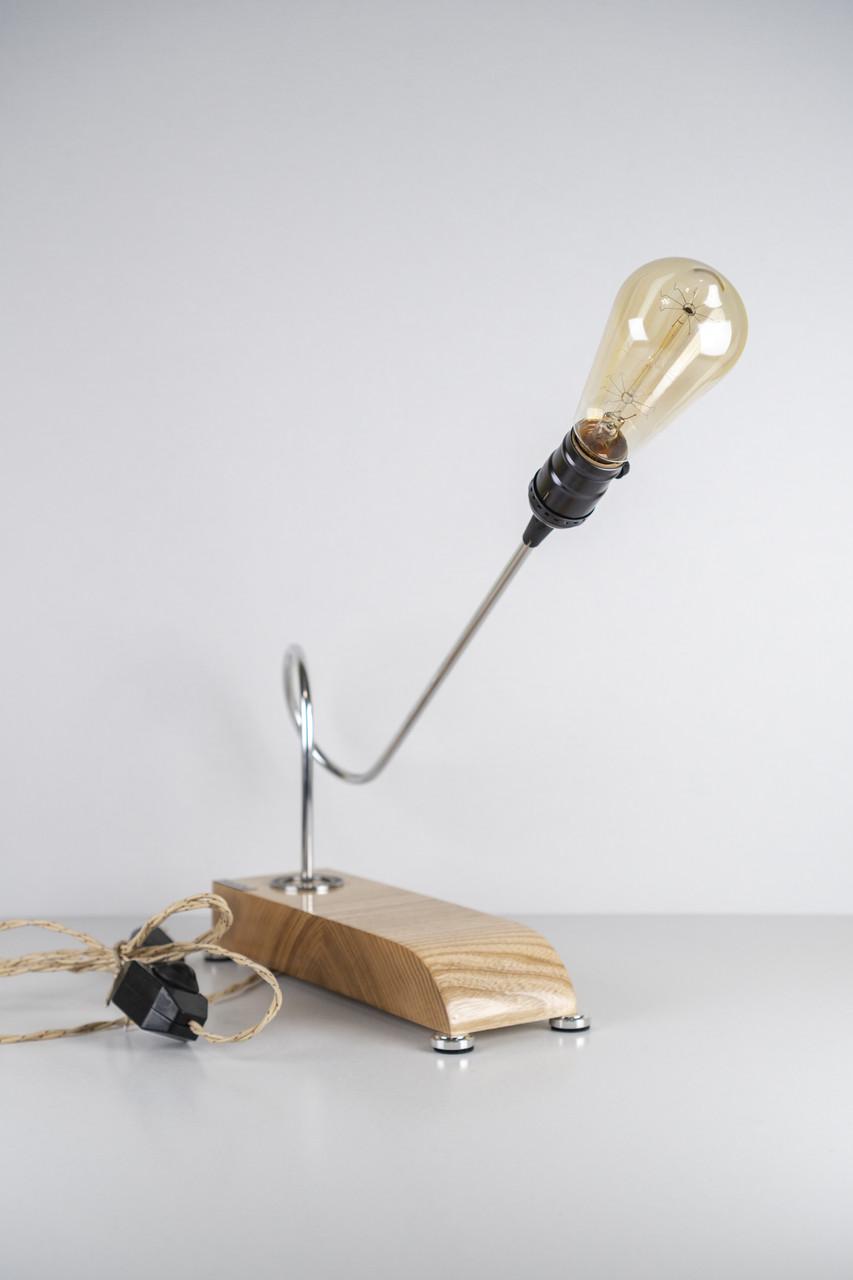 Настільна лампа Pride&Joy коричнева