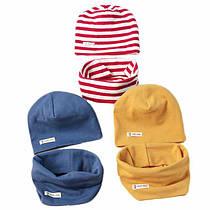 Детские и подростковые шапки и комплекты оптом