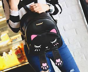 Рюкзак городской женский Moggy black