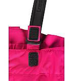 Зимние штаны на подтяжках для девочки Lassie by Reima Taila 722733.9-4690. Размеры 92 - 122., фото 3