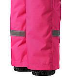 Зимние штаны на подтяжках для девочки Lassie by Reima Taila 722733.9-4690. Размеры 92 - 122., фото 4