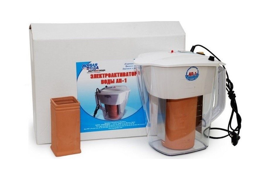 Активатор води АП-1 вар.3МТ. Прилад для живої і мертвої води