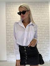 Женская рубашка с манжетами, фото 2