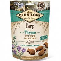 Carnilove Dog Semi-Moist Carp with Thyme Лакомство для собак карп и тимьян, 200г