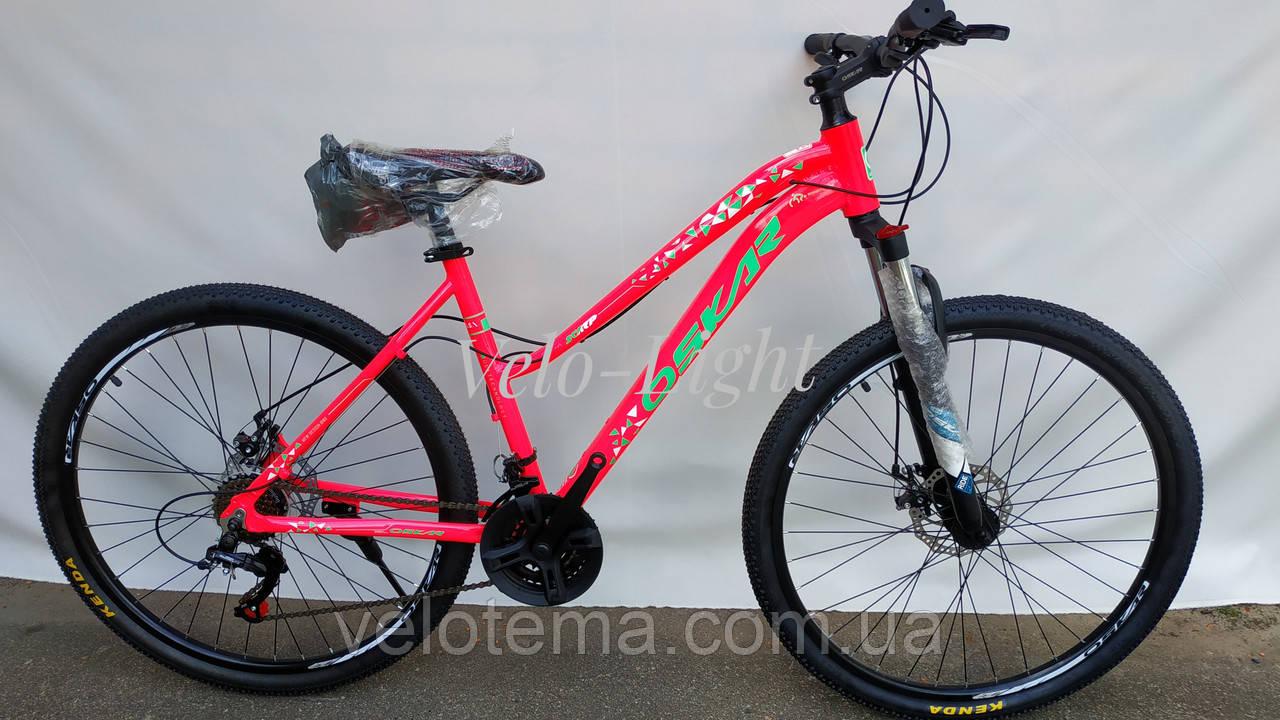 Велосипед женский дамский алюминиевый Oskar Scarp 27,5
