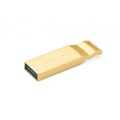 Флешка USB Exceleram 32GB U2 Series USB 3.1 Gen 1 (EXP2U3U2G32) Gold