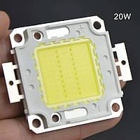 LED модуль 20вт сверхяркий мощный светодиодный чип LED Epistar для прожекторов, фото 1