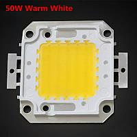LED модуль 50вт сверхяркий мощный светодиодный чип LED Epistar для прожекторов, фото 1