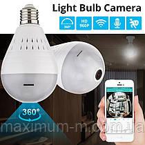 KERUI Wi-Fi CCTV Fisheye IP камера видеонаблюдения 360 градусов ночное видение 960P