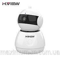 Беспроводная IP камера CCTV 1080P H.VIEW C8 2МП WiFi, ночная съемка, датчик движения