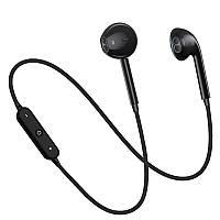 Беспроводные Bluetooth наушники с микрофоном S6 Sport Black