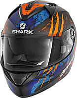 Мотошлем Shark Ridill Threezy (оранжевый)