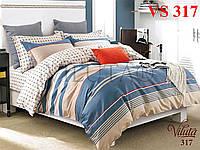 Постельное белье, семейный комплект, сатин, Вилюта «Viluta» VS 317