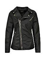 Женская черная куртка косуха большые размеры 52, 54, 56, 58