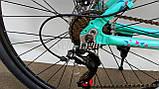 Велосипед женский алюминиевый Oskar Scarp 27,5 колёса, фото 6