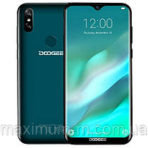 "Doogee Y8 4G 6,1"" HD 19:9 Android 9.0 MT6739 4ядра 3GB RAM 16GB Face ID 3400 mAh 8MP Emerald Green"