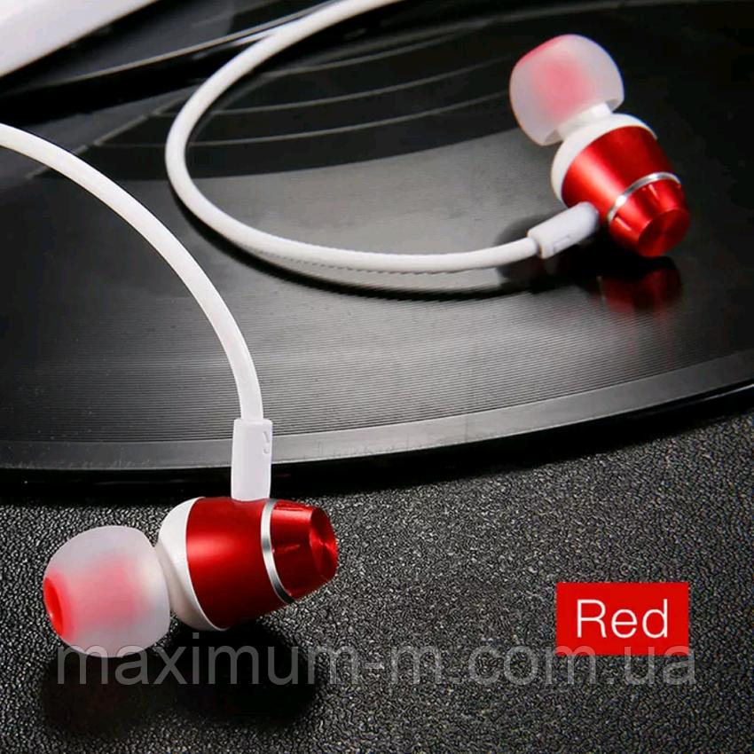 Оригінальні Bluetooth навушники гарнітура Baseus Encok S09 Red - фото 1