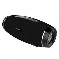 Портативная влагозащищенная Bluetooth колонка HOPESTAR H27 Черная