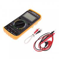 Профессиональный мультиметр Digital DT9208A тестер вольтметр амперметр