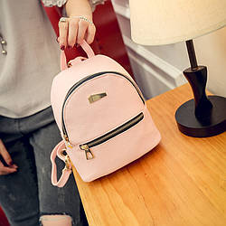 Рюкзак мини женский Jessie pink