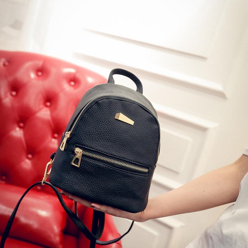 Рюкзак мини женский Jessie black